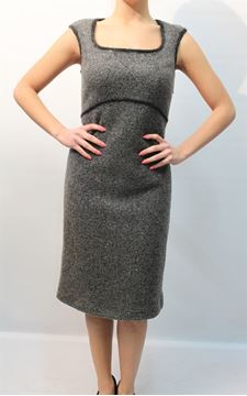 Picture of DRESS ROBERTA SCARPA WOMAN 10I RS 143 GRIGIO