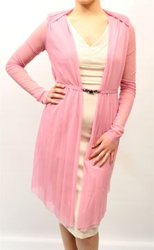 Picture of CARDIGAN TWIN-SET WOMAN P2S32Q ROSA