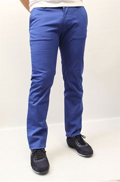 Picture of PANTS HUGO BOSS MAN RICE 1-D BLU CHIARO