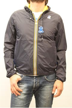 Picture of WINTER JACKET K-WAY MAN JACQUES P.D. BLU