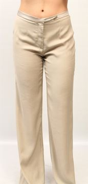 Picture of PANTALONE FABIANA FILIPPI WOMAN PG77313 Q773 BEIGE