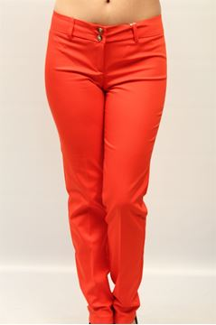 Picture of PANTS  LIST WOMAN TAKE ARANCIO