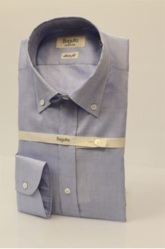 Picture of SHIRT BAGUTTA MAN AA140L 00160 AZZURRO
