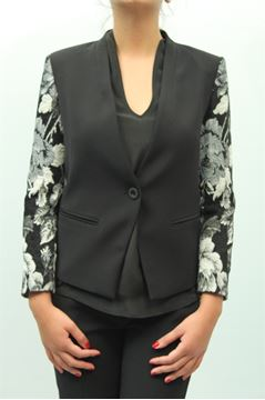 Picture of JACKET PINKO WOMAN GHIRO NERO