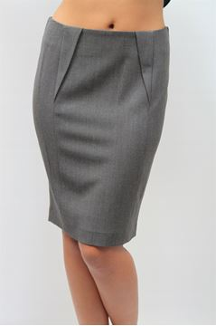 Picture of SKIRT ARMANI JEANS WOMAN U5G22 CZ GRIGIO