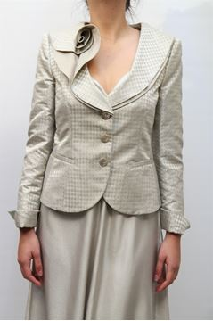 Picture of JACKET ARMANI COLLEZIONI WOMAN AMG21T AM133 BEIGE