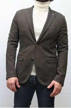 Picture of JACKET PAOLONI MAN 11G817T20250 MARRONE