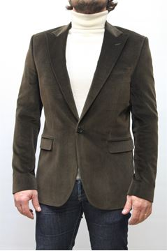 Picture of JACKET PAOLONI MAN 051G78714132 MARRONE