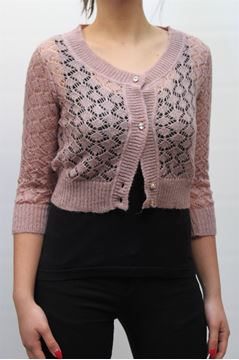 Picture of CARDIGAN BLUGIRL WOMAN A1932 6369 ROSA