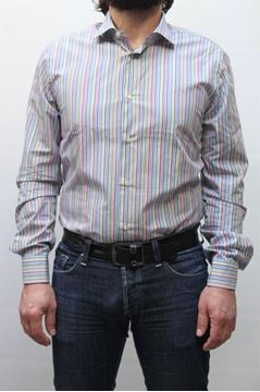 Picture of SHIRT HENRY COTTON'S MAN 50155 RIGHE