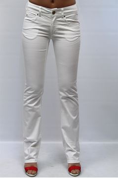 Picture of JEANS ARMANI JEANS WOMAN M5J15 DI BIANCO