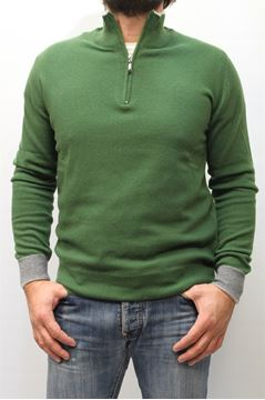 Picture of MAGLIA LIBERO DIAMBRA MAN D14592 GREEN