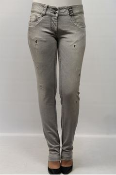 Picture of PANTS TATTOO WOMAN SP-H6-G07 GRIGIO
