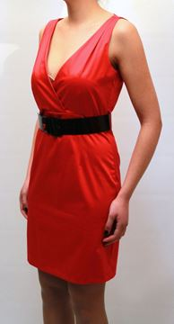 Picture of DRESS LOVE MOSCHINO WOMAN WVB8080T7530 NERO