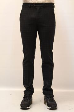 Picture of PANTS SEVENTY MAN PT0025 160088 QUADRI BLU