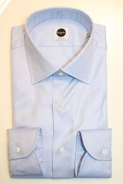 Picture of SHIRT BAGUTTA MAN AN050L 05872 AZZURRO