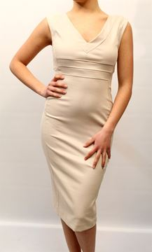 Picture of DRESS TWIN-SET WOMAN P2S3UA BEIGE