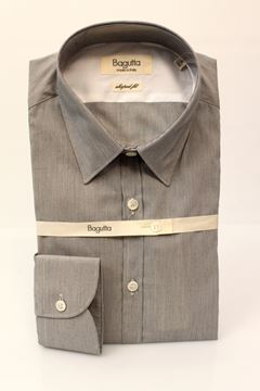 Picture of SHIRT BAGUTTA MAN L.A.01450 GRIGIO