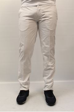 Picture of PANTS DIMATTIA MAN PATCH GESS. BIANCO