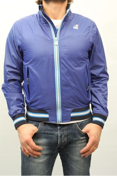 Picture of WINTER JACKET K-WAY MAN TORNADO U. BLU CHIARO