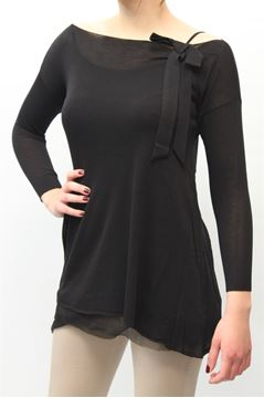 Picture of JERSEY LIST WOMAN TC/682 NERO
