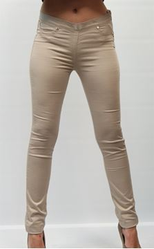 Picture of PANTS TWIN-SET WOMAN T2S38P BEIGE