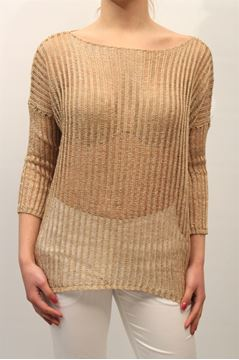 Picture of JERSEY LIST WOMAN PT/113 BEIGE