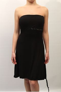 Picture of DRESS BLUGIRL WOMAN A3938 6346 NERO