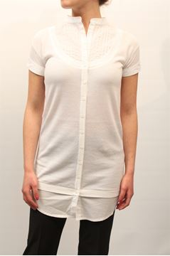 Picture of CARDIGAN TWIN-SET WOMAN T3S3F2 BIANCO
