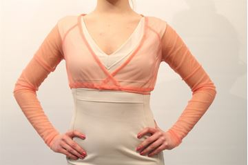 Picture of SHRUG TWIN-SET WOMAN T2S3CD ROSA