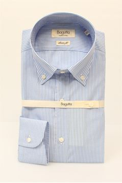 Picture of SHIRT BAGUTTA MAN AA140L*00010 QUADRI