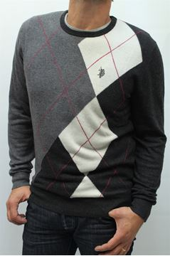 Picture of MAGLIA U.S. POLO ASSN. MAN 17357708 QUADRI