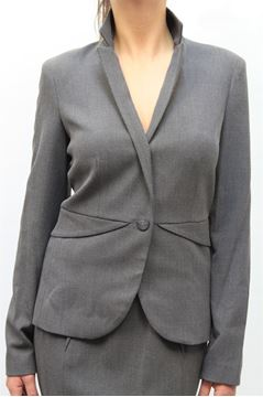 Picture of JACKET ARMANI JEANS WOMAN U5N11 CZ GRIGIO