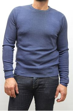 Picture of MAGLIA BECOME MAN 413810 BLU