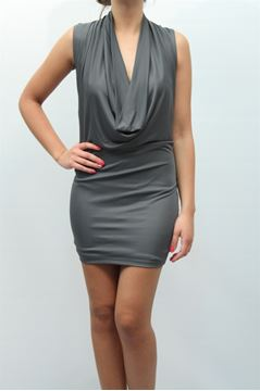 Picture of DRESS ELISABETTA FRANCHI WOMAN AB6903208 GRIGIO