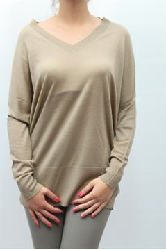 Picture of SHIRT TWIN-SET WOMAN P3A3FJ BEIGE