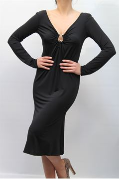 Picture of DRESS CLASS ROBERTO CAVALLI WOMAN RC15372 NERO