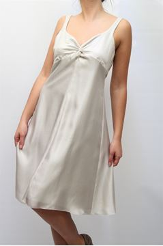 Picture of DRESS ARMANI COLLEZIONI WOMAN AMA06T AM403 ARGENTATO