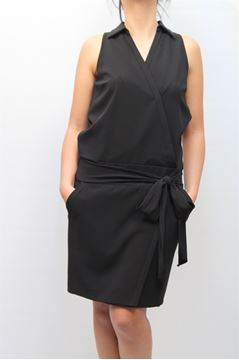 Picture of DRESS SEVENTY WOMAN 681173369039 NERO