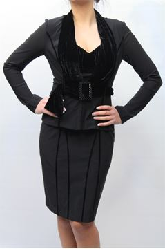 Picture of TAILLEUR NUVOLA WOMAN 5129+829+839 NERO