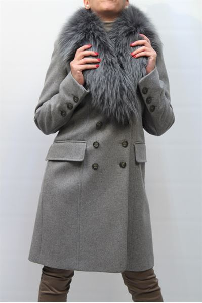 Picture of COAT SEVENTY WOMEN 361143310034 GRIGIO