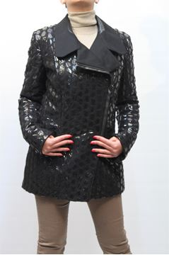 Picture of JACKET JUST CAVALLI WOMAN AM0028N35485 NERO