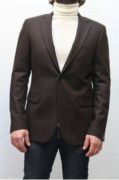 Picture of JACKET PAOLONI MAN 071G74716204 MARRONE