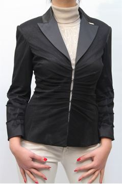 Picture of JACKET ELISABETTA FRANCHI WOMAN GI8122917 NERO