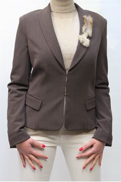 Picture of JACKET ELISABETTA FRANCHI WOMAN GI8243102 MARRONE