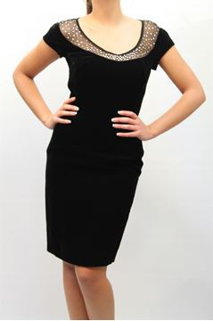 Picture of DRESS MARIA GRAZIA SEVERI WOMAN 4135 NERO