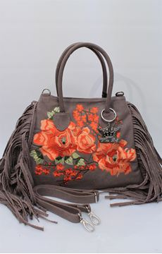 Picture of BAG MIA BAG WOMAN 14150 14 MARRONE ARANCIONE