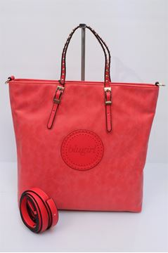 Picture of BAG BLUGIRL BY BLUMARINE WOMAN 327002 ROSSO P 2014