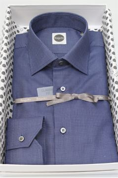Picture of SHIRT BAGUTTA MAN AA050L 02086 BLU