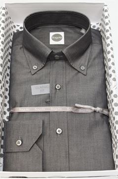 Picture of SHIRT BAGUTTA MAN AA140L 02166 GRIGIO